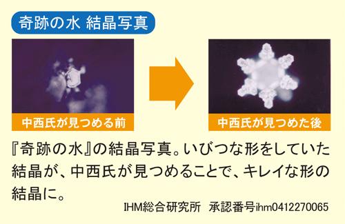 奇跡の水 結晶写真
